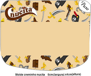 Pirate Party Free Printable Nucita Labels.