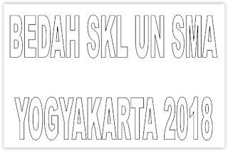 BEDAH SKL UN SMA YOGYAKARTA  2018