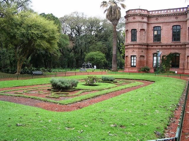 Jardim Botânico nos Bosques Palermo em Buenos Aires