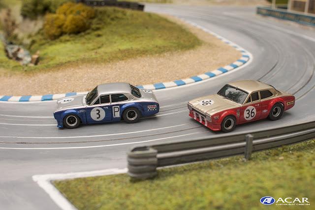 FORD Escort Alan Mann Nürburgring 1968 Slot Car AFX Tomy Faller