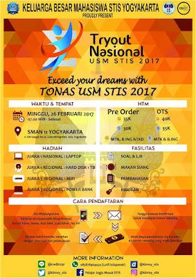 Lomba Tryout Nasional by USM STIS 2017 Untuk SMA Sederajat