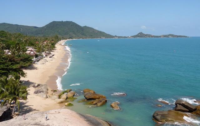 Lamai Beach,Thailand