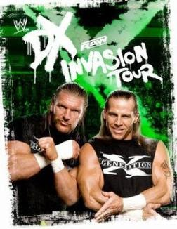 WWE DX INVASION TOUR 2009