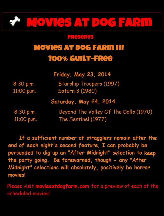 Movies At Dog Farm III 100% Guilt-Free Movies schedule