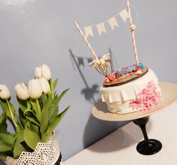 Cake topper d'anniversaire