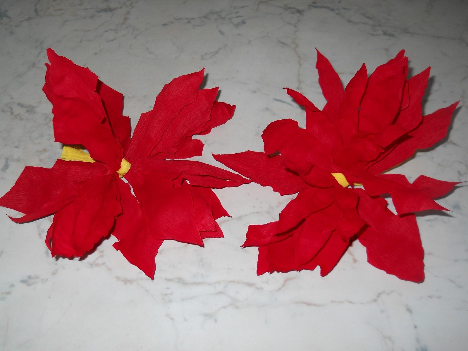 Stella Di Carta Natale.Bricolage Stella Di Natale Di Carta Facile Bricolage Ricette Blog