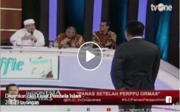 Penjelasan KH Tengku Zulkarnain tentang Pakaian Kearab-araban di ILC Bikin Nusron Resah