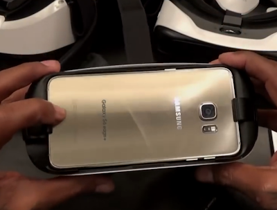 Samsung gear vr S6 Edge+ overheating