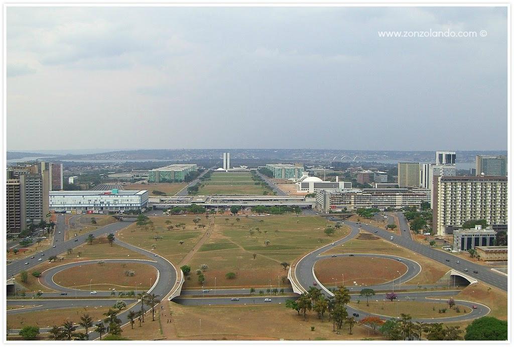 Brasilia capitale del Brasile viaggio città cosa vedere