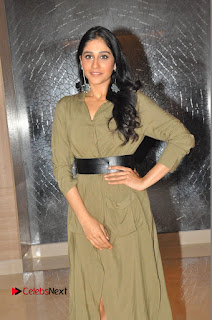 Actress Regina Candra Latest Pictures in Long Dress at Oppo Mobile Launch  0045.JPG