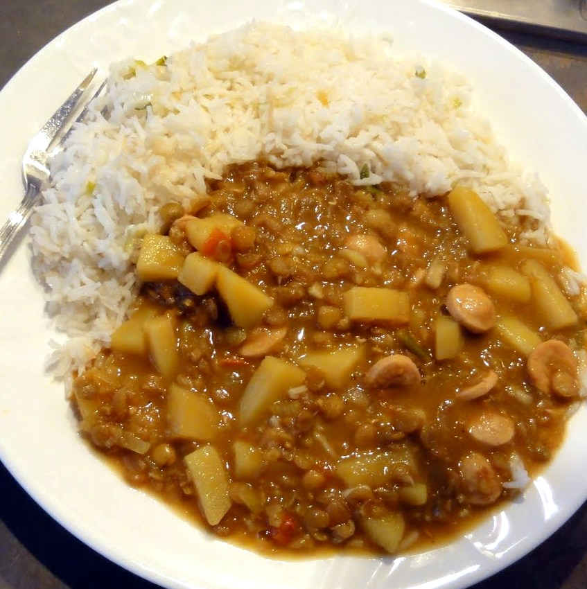 Food Recipe Lentejas Easy Lentils