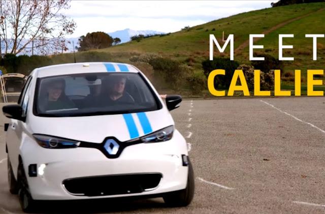Renault объявила о новых испытаниях автономных автомобилей
