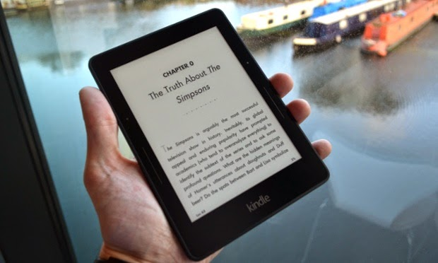 Kindle enables reading online books anywhere