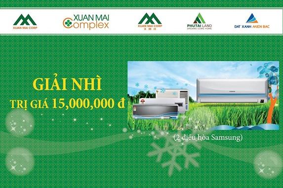 Mua chung cư Xuân Mai Complex trúng điều hòa Samsung 15 triệu