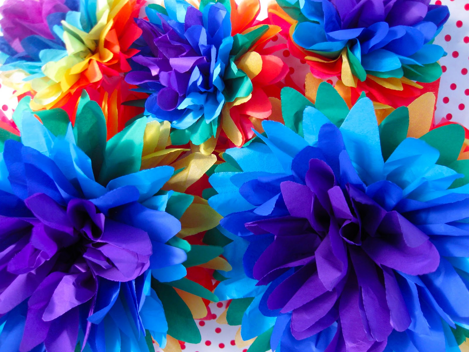 Large tissue paper fiesta flowers gardening flower and vegetables how to make mexican paper flowers with tissue paper image mightylinksfo