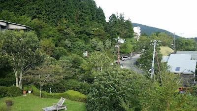 ヴァークスイート箱根から見た景色