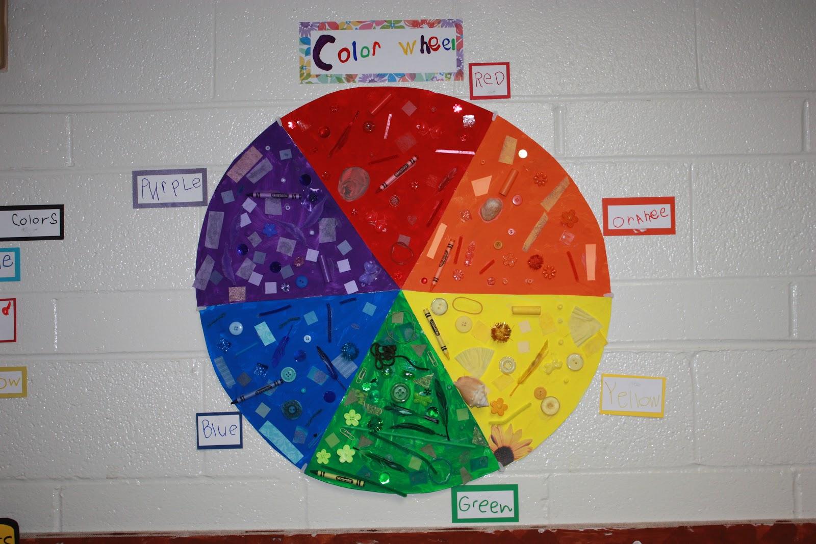 Mrs Atkin S Kindergarten Color Wheel
