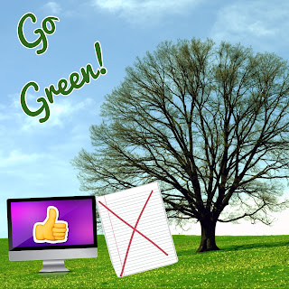 Create Earth Day posters and slogans using the free iPad app, PicCollage