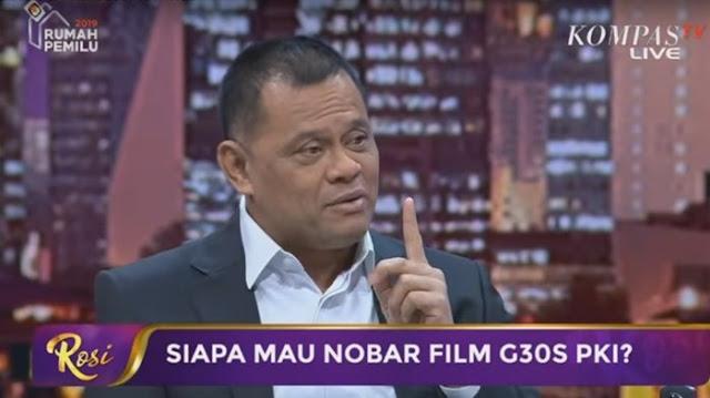 Bikin Terbengong-bengong, Data Yang Diungkap Jenderal Gatot Nurmantyo Soal Kebangkitan PKI, Ternyata Yang Dia Sebut PKI.....