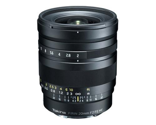 عدسة FíRIN 20mm F2 FE MF ستتوفر في الأسواق يوم 27 يناير المُقبل