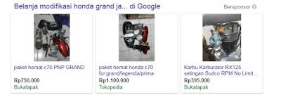 Modifikasi Honda Grand Menjadi Honda C70