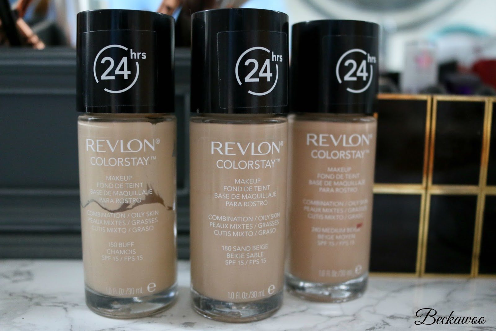 Review Revlon colorstay combination/oily skin foundation | Beckawoo