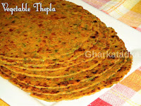 Vegetable Thepla