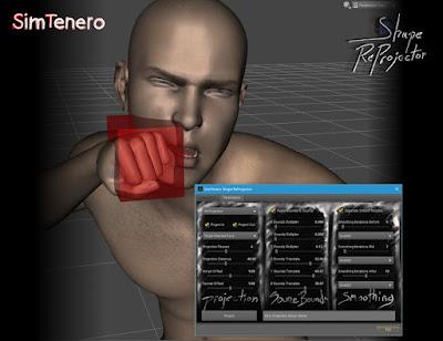 SimTenero Shape Reprojector