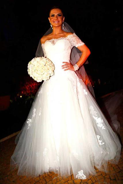 Mirela Santos, vestido do Lucas Anderi