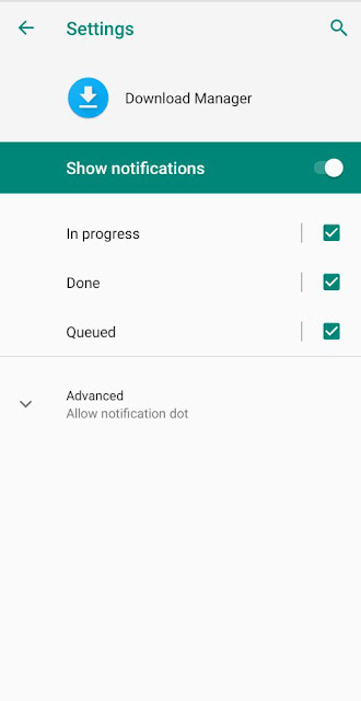 Cara Memperbaiki Notifikasi Download Progress Tidak Tampil di Android 7