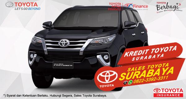 Promo DP Ringan, Paket Kredit Toyota Fortuner Surabaya