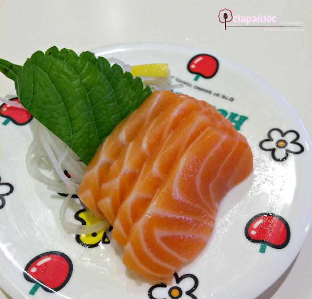 Salmon Sashimi from Genki Sushi