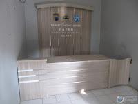 Desain Meja Customer Service Terbaru - Furniture Semarang