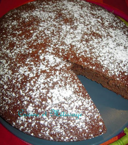 cake nutella amande