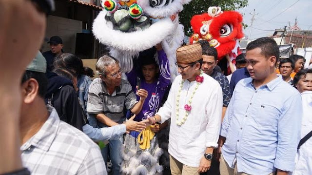 Temui Warga Tionghoa di Jateng, Sandi Singgung Sosok Kwik Kian Gie