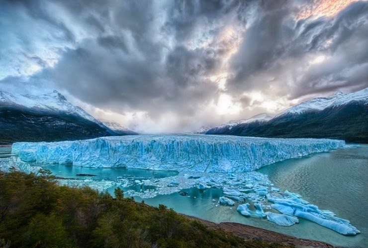 Dramatic Coast with Fjords in Patagonia, Chile