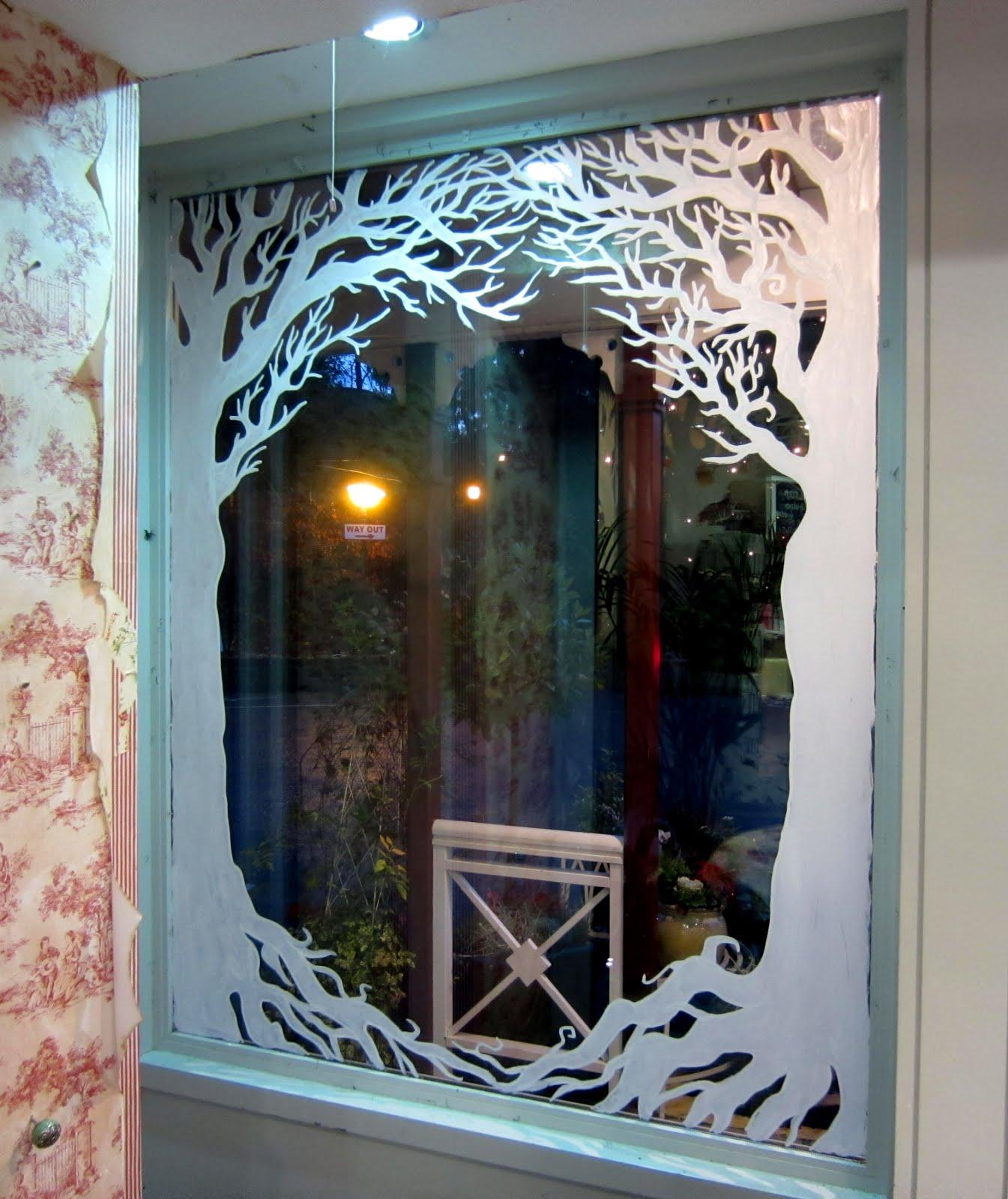 Window Painting & Murals, Dublin: Avoca Kilmacanogue ...