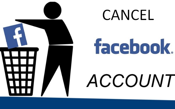 cancel facebook account
