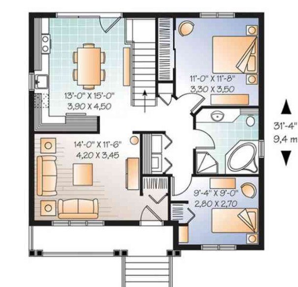 Desain Rumah Minimalis Type 36/60 dan 36/72: 1 Lantai dan ...