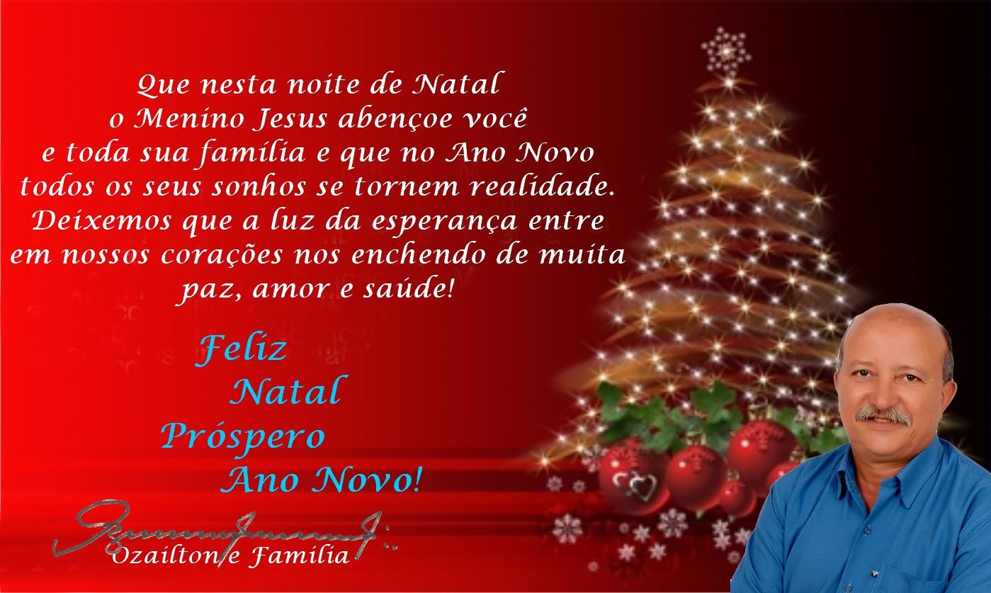 Mensagem De Natal Para Família: Blog Do Ozailton: NOSSA MENSAGEM NATALINA A MINHA FAMÍLIA