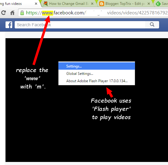 Easily download Facebook videos on PC or on mobile or even Facebook application like Android and iOS.