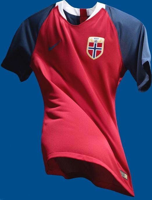 3ce87745316b1 Nike divulga as novas camisas da Noruega - Show de Camisas
