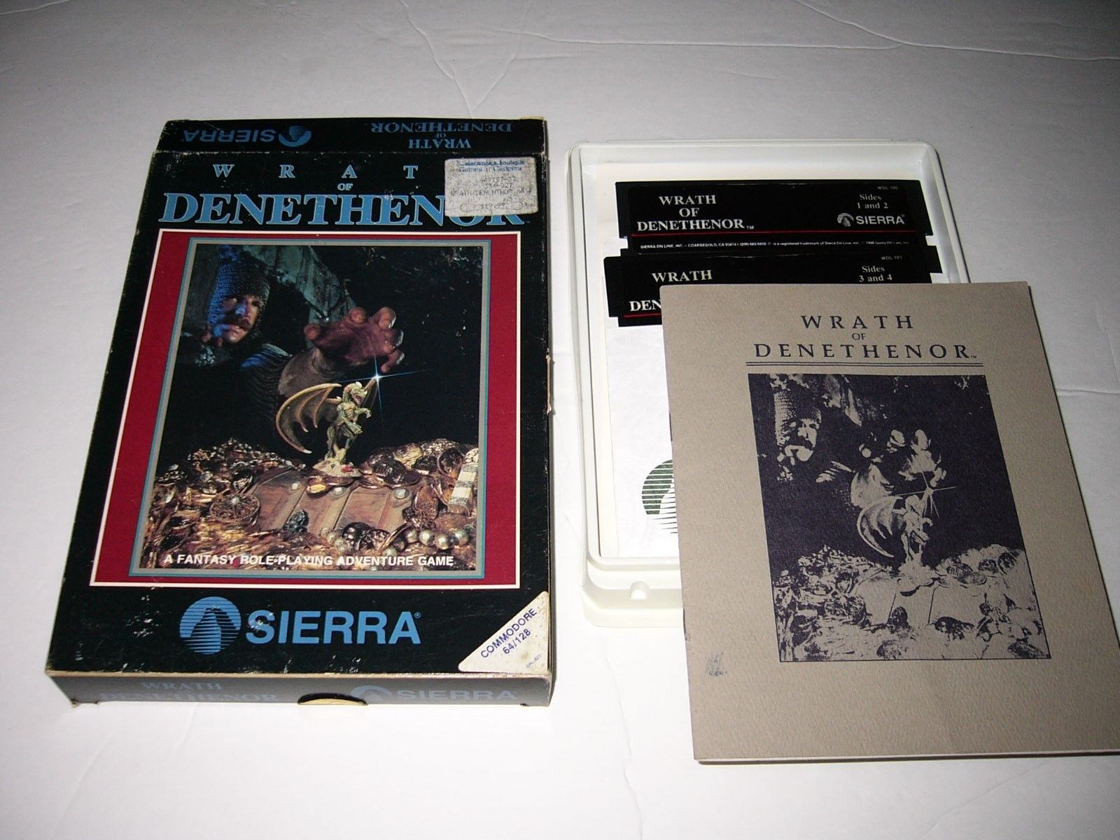 Retro Treasures: The Wrath of Denethenor (Commodore 64/128)