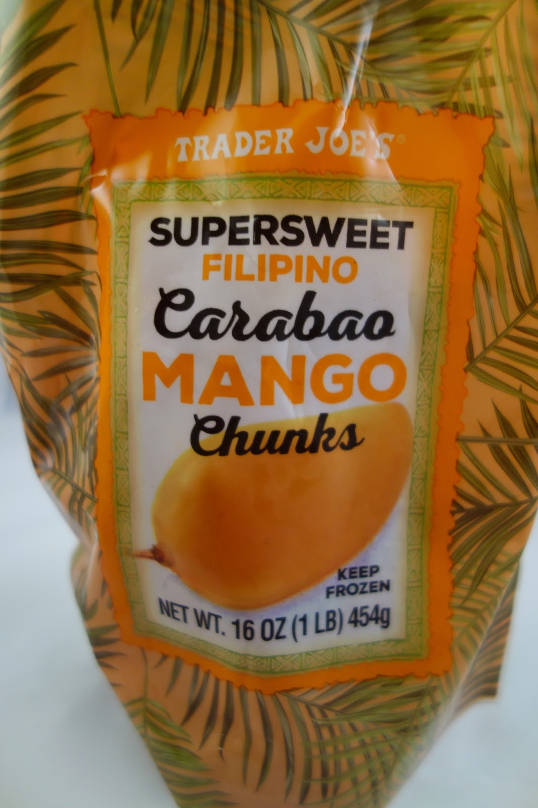 I Thought Tj's Might Have Saved This For This Year's Mango Mania, If That's  Still Going To Be A Thing, But I Suppose With All The Cold, Gray Weather It
