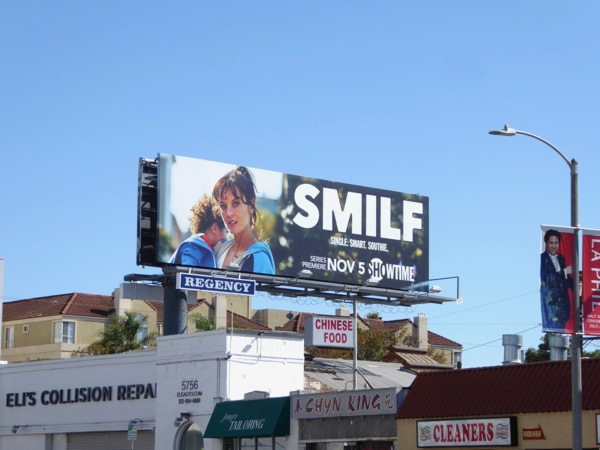 SMILF Showtime series billboard