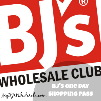 BJ's One Day Shopping Pass