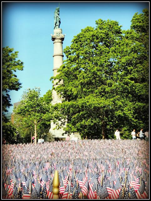 Jardín de Banderas Americanas