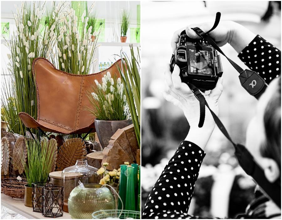 Järvenpään Kukkatalo, sisustus, olohuone, nahkatuoli, sisustaminen, kukkia, vihreä, valokuvaus, Visualaddict, Frida Steiner, valokuvaaja