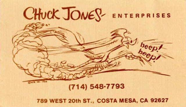 Chuck Jones – Warner Bros