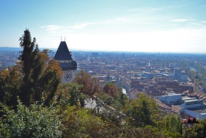 Schlossberg - wzgórze zamkowe w Graz